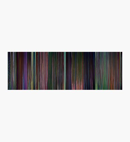 Moviebarcode: Alice in Wonderland (1951) Photographic Print