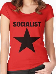 SOCIALIST Women's Fitted Scoop T-Shirt