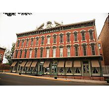 Las Vegas, New Mexico - Plaza Hotel Photographic Print