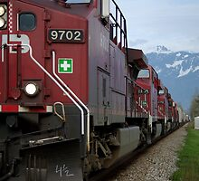 Canadian Pacific by Sheri Bawtinheimer