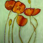 Poppies 2 by Sandrine Pelissier