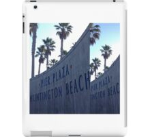 Pier Plaza Huntington Beach iPad Case/Skin