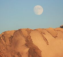 Where mountain meets moon by Ubhejane