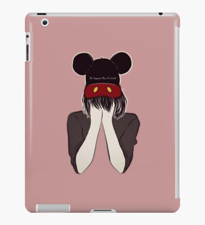 The Happiest Place On Earth iPad Case/Skin