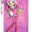 Amy Rose - Sonic Adventure 2 Battle by Tom Skender