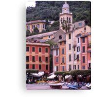 Portofino,Italy. Canvas Print