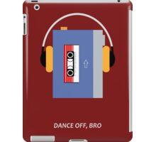 "Star-Lord - ""Dance Off, Bro..."" Minimalist iPad Case/Skin"