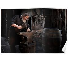 The Blacksmith - Sovereignhill Poster