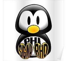 Phi Sigma Rho Penguin Poster