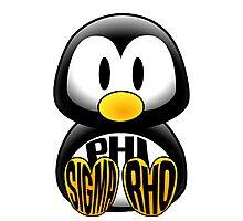 Phi Sigma Rho Penguin Photographic Print