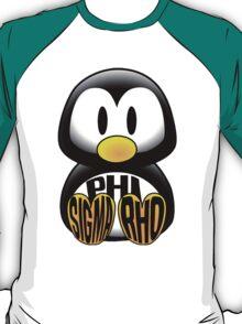 Phi Sigma Rho Penguin T-Shirt