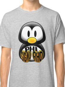 Phi Sigma Rho Penguin Classic T-Shirt