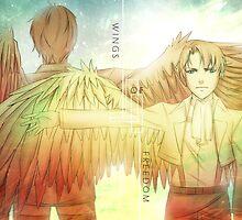 Wings of Freedom by TEAMJUSTICEink