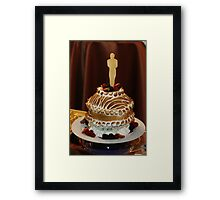 OSCARS TREAT Framed Print