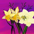 Daffodils From My Sister by Wilma Tyler