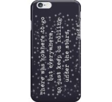 Under the stars. Kerouac iPhone Case/Skin