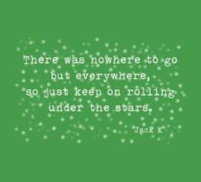Under the stars. Kerouac One Piece - Short Sleeve