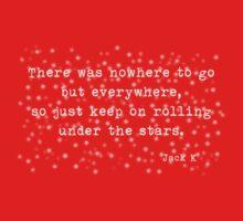 Under the stars. Kerouac Baby Tee