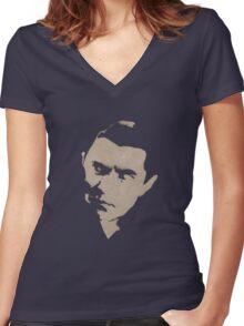 bela Women's Fitted V-Neck T-Shirt