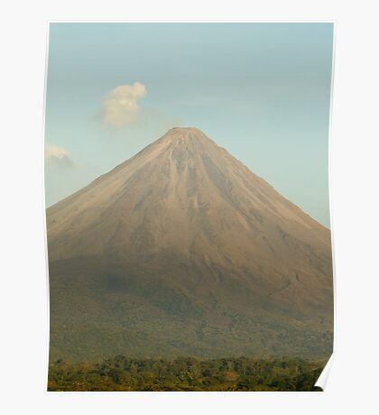 { arenal volcano } Poster