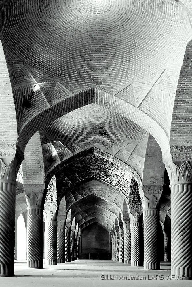 Columns and Arches by Gillian Anderson LAPS, AFIAP
