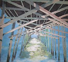Emerald Isle Pier by Jennifer Ingram