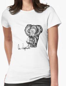La Dispute Elephant Womens Fitted T-Shirt