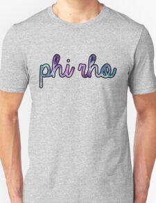 Phi Rho Galaxy Unisex T-Shirt