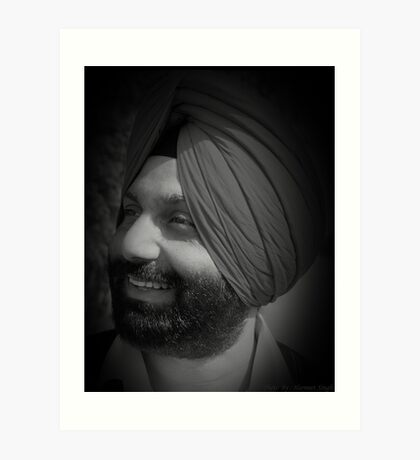 Portrait 24 Art Print