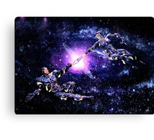 Playful Sparring Canvas Print