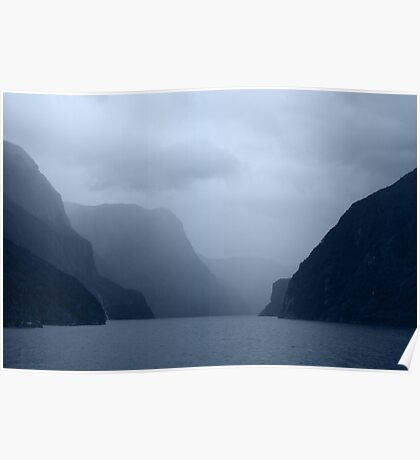 { mystical milford sound } Poster