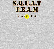 WAFA Squat Team Gray/Black/Yellow Tank Top