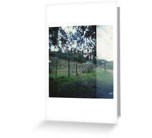 vineyard. Greeting Card