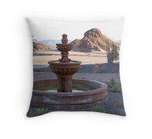 Lake Havasu Fountain Throw Pillow