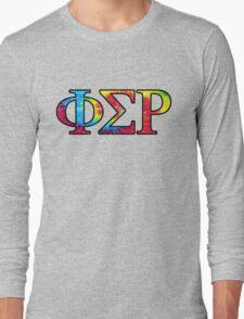 Phi Sigma Rho Tie Dye Long Sleeve T-Shirt
