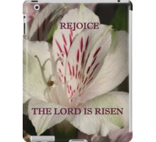 The Lord is Risen ipad case/gifts/apparel iPad Case/Skin