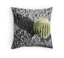 Cactus Shadow Throw Pillow