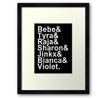 RuPaul's Drag Race Framed Print