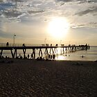 Glenelg Jetty by Ian Berry