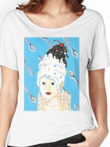 Vanilla ice cream Women's Relaxed Fit T-Shirt