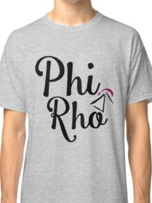 Phi Rho Script Classic T-Shirt