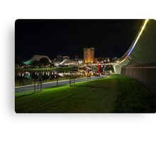 Adelaide Riverbank at Night VII Canvas Print