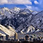 Salt Lake City - Panorama by Ryan Houston