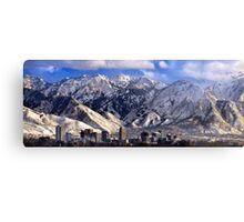 Salt Lake City - Panorama Metal Print