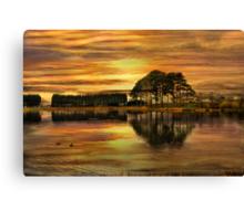 Sunset !! Canvas Print