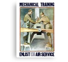 Enlist In The Air Service -- WW1 Canvas Print