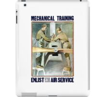 Enlist In The Air Service -- WW1 iPad Case/Skin
