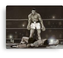 SIMPLY THE GREATEST ! Canvas Print