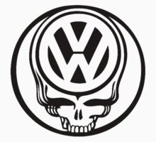 VW Dead Head black Baby Tee