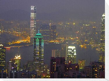Hong Kong by night by supergold
